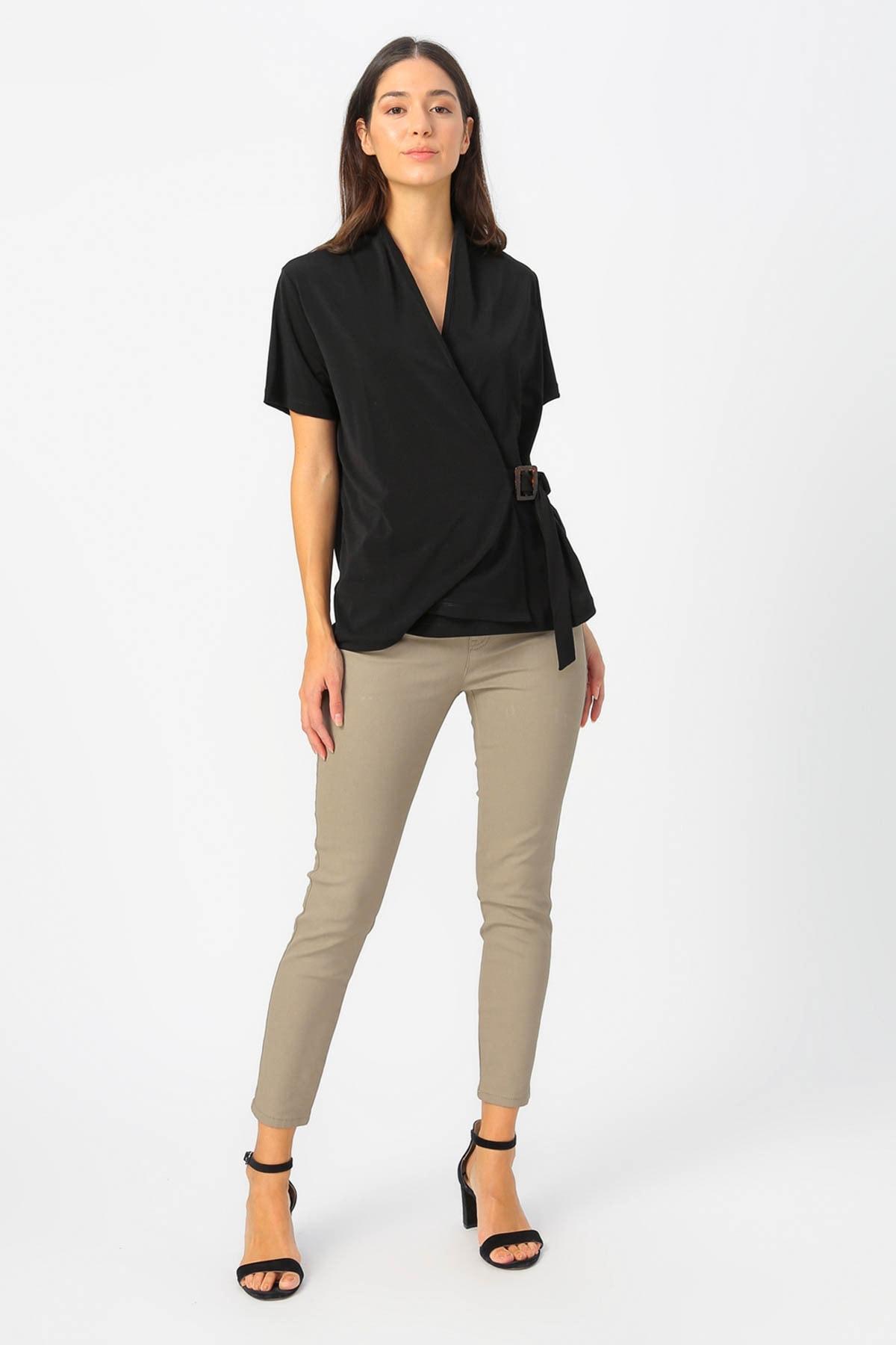 Fabrika Kadın Siyah Bluz 504393070 Boyner 1