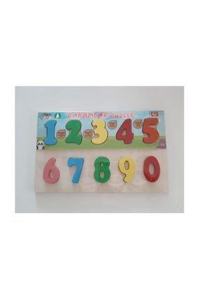 BEBEBEBEK Oyuncak Rakamlar Ahsap Puzzle