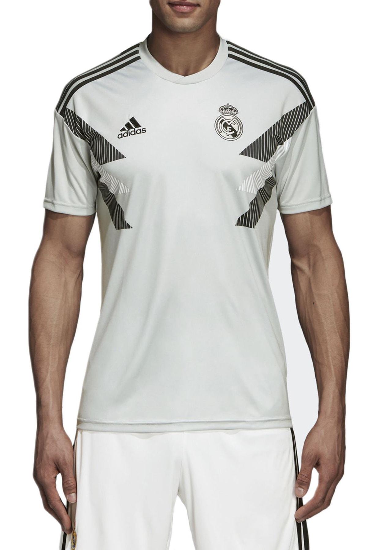 adidas Erkek T-shirt - Real Madrid Preshi - CW5826