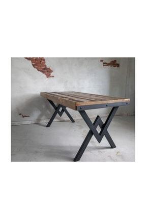 Deryawood Masif Mobilya Masif Ağaç Yemek Masası 120*60 Cm