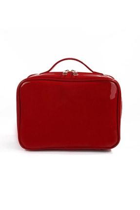 EJOYA Kırmızı Renk Makyaj Çantası 86939