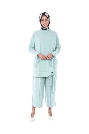 HaticeS Kadın Bağcıklı Tunik Takım
