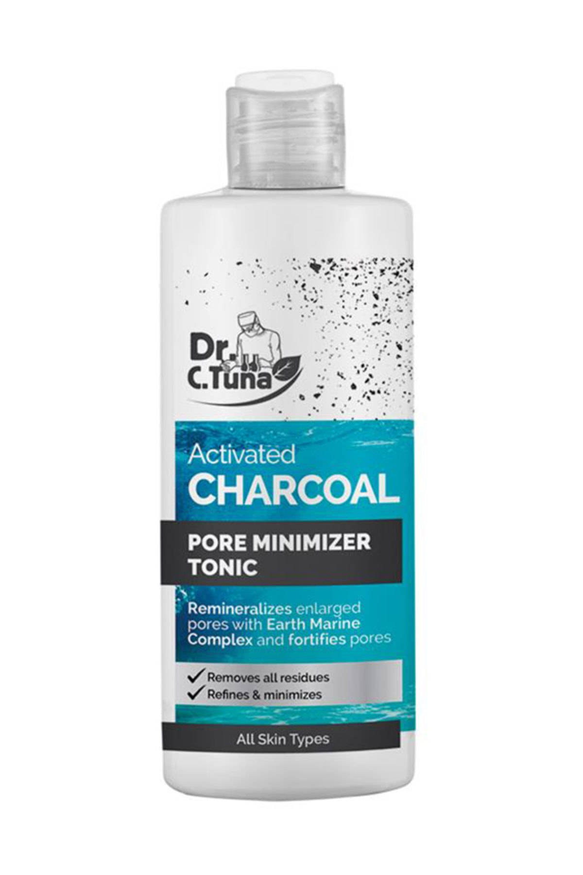 Farmasi Dr. C. Tuna Aktif Karbon Gözenek Sıkılaştırıcı Tonik 225 ml 1