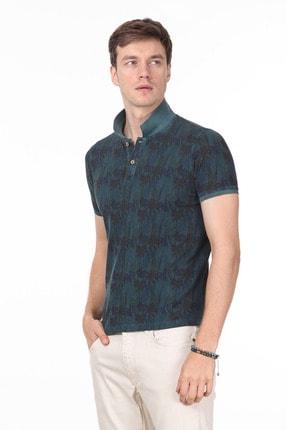 Ramsey Erkek Yeşil Düz Örme T - Shirt RP10120074