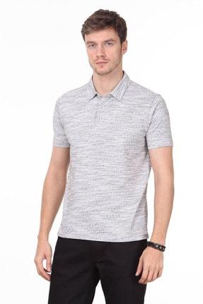 Ramsey Erkek Kahverengi Jakarlı Örme T - Shirt RP10119897
