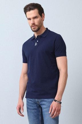 Ramsey Erkek Açık Lacivert Örme T - Shirt RP10119916