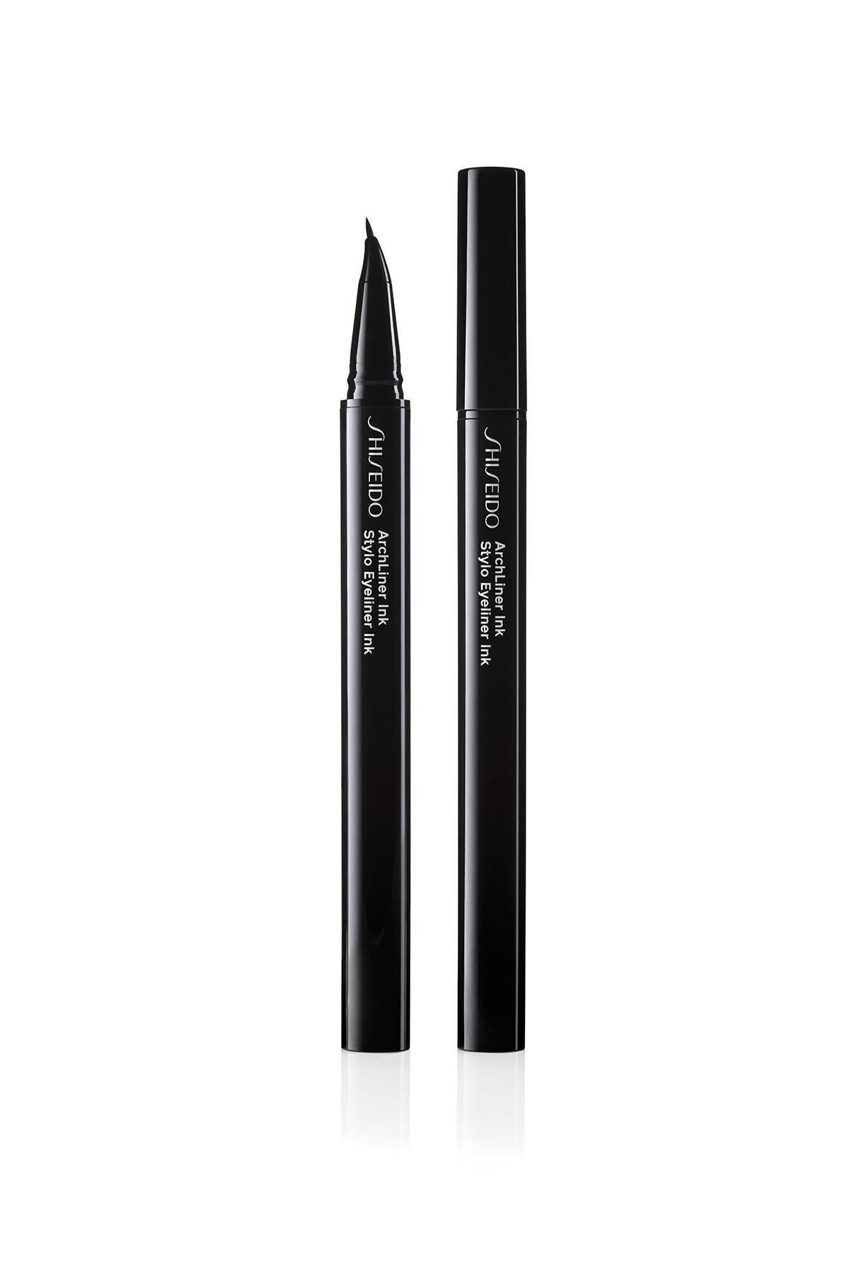 Shiseido İnce ve Kıvrık Uçlu Likit Eyeliner - Archliner Ink 01 729238147324