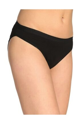 Tutku Kadın 6'lı Paket Bikini Slip Külot (Siyah)