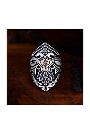 Akik Gümüş Saltanat Serisi Kemankeş Yüzük