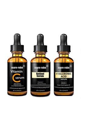 Pure Skin Hyaluronic Acid+retinol+vitamin C 3 Lü Serum 30 ml 4578524569853