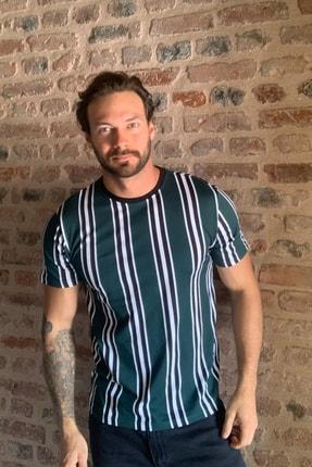 TRENDYOL MAN Yeşil Erkek T-Shirt TMNSS20TS1095