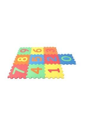 MOCHATOYS Çocuk Oyun Karosu - Eva Puzzle Yer Matı Rakamlar 10 mm 10 lu