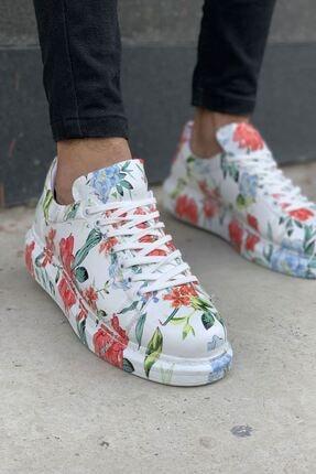 Chekich Ch255 Bt Erkek Ayakkabı Çiçekli