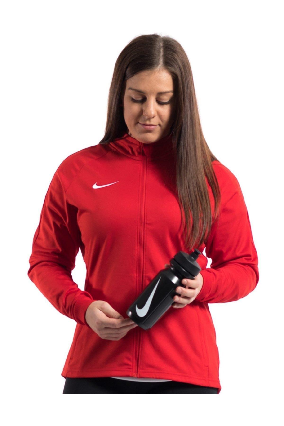 Nike 893767-657 W NK DRY ACDMY18 TRK JKT K Kadın Ceket 2