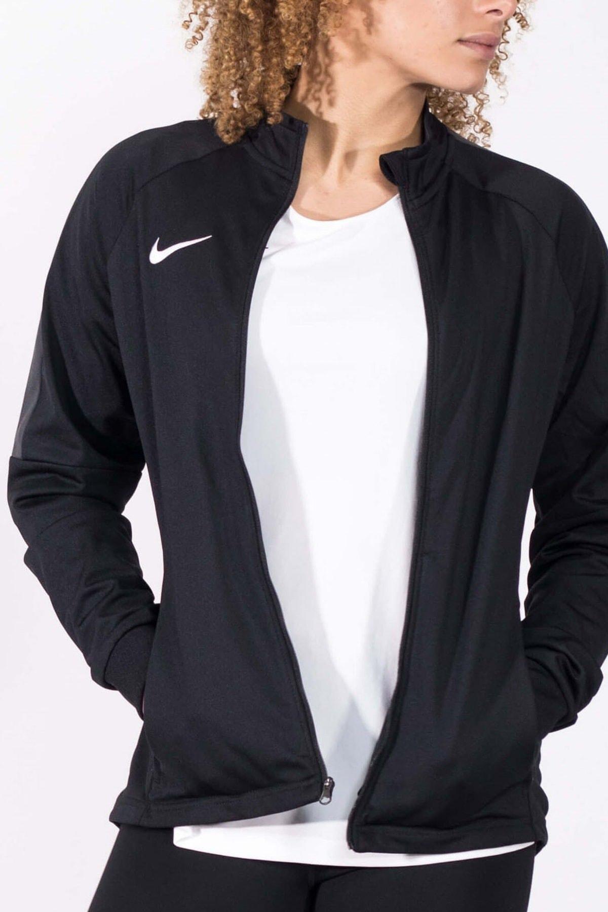 Nike 893767-010 W NK DRY ACDMY18 TRK JKT K Kadın Ceket 1