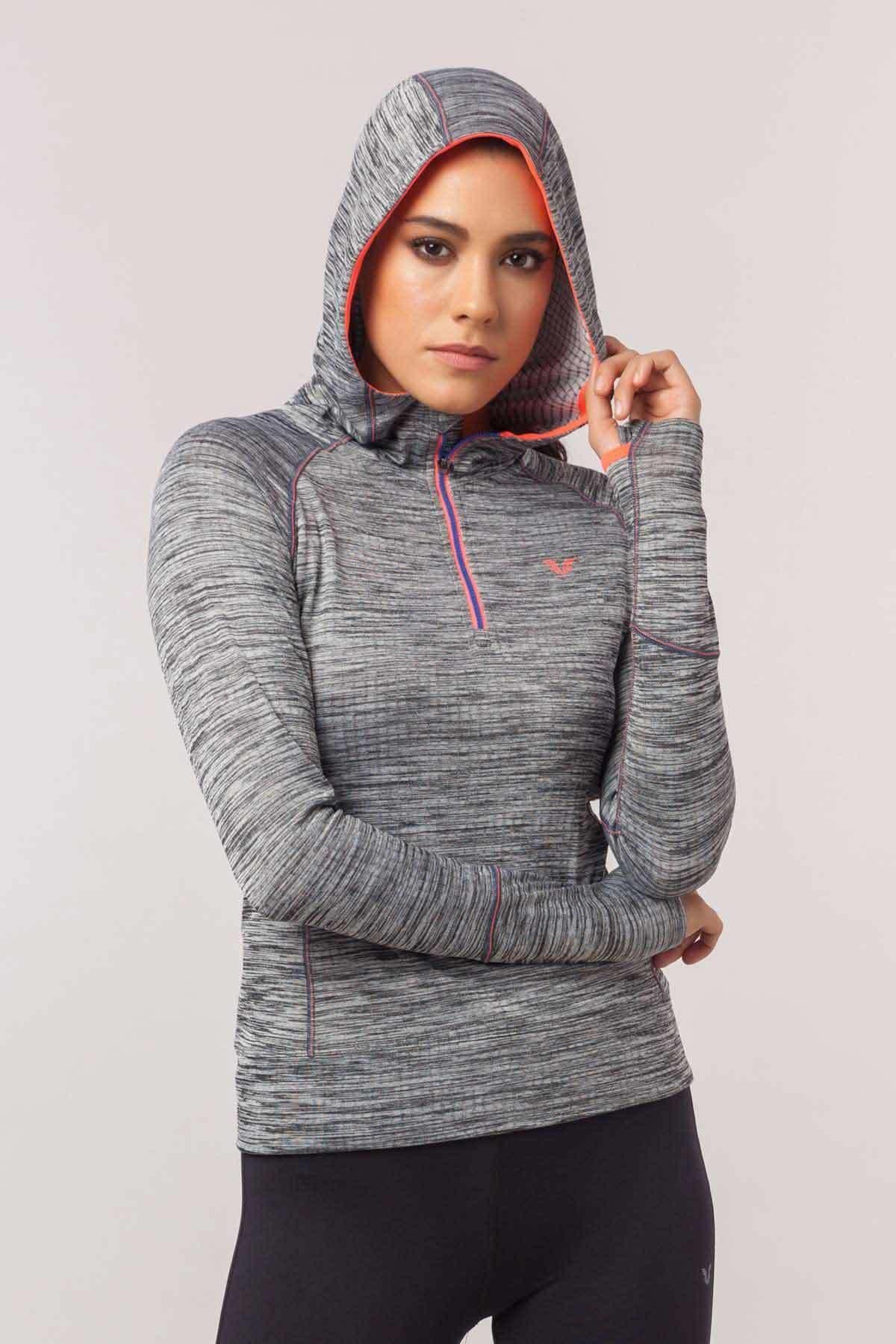 bilcee Kadın  Sweatshirt EW-3106 1