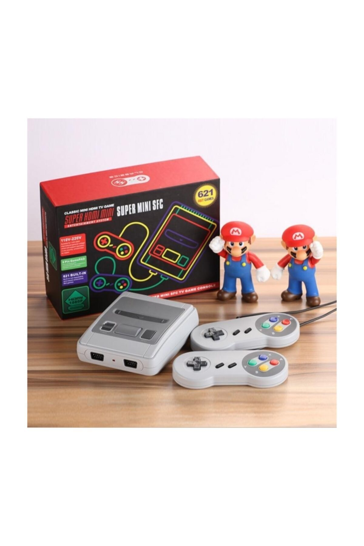 ATARI 621 Nostalji Oyunlu Atari Gameboy & Gamebox Oyun Konsolu 2