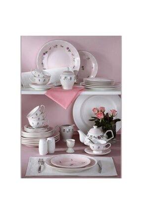 Pierre Cardin Rose 49 Parça 6 Kişilik Porselen Kahvaltı Takımı