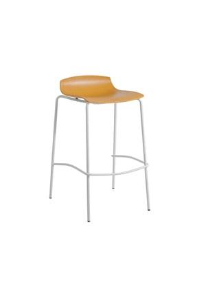 Papatya Unisex Sarı Pro Bar Sandalyesi