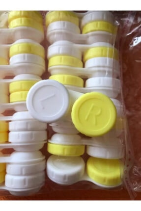 Mcb Hediyelik Eşya ve Aksesuar Unisex  Sarı Lens Kutusu 1 Adet