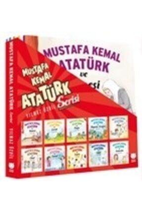 Kırmızı Kedi Yayınevi Mustafa Kemal Atatürk Serisi 10 Kitap Takım