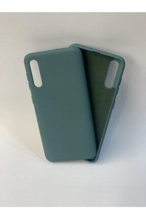 Mopal Samsung A50 / A30s / A50s Koyu Yeşil Lansman Silikon Kılıf