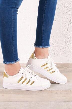 Zafoni Kadın Gold Günlük Spor Ayakkabı