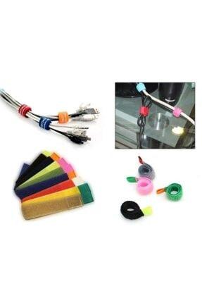 Pi İthalat Kablo Düzenleyici Cırt Cırt 6 Adet