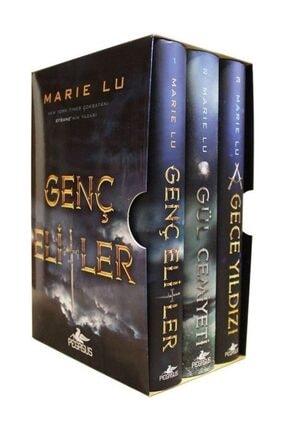 Pegasus Yayınları Genç Elitler Serisi Kutulu Özel Set (Ciltli 3 Kitap) - Marie Lu