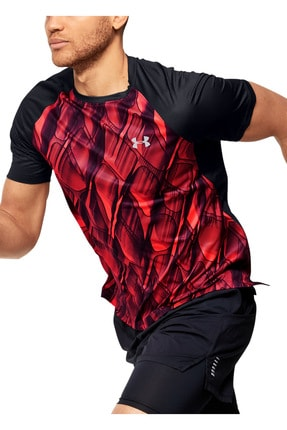 Under Armour Erkek Spor T-Shirt - M UA Qualifier iso - 1350133-628