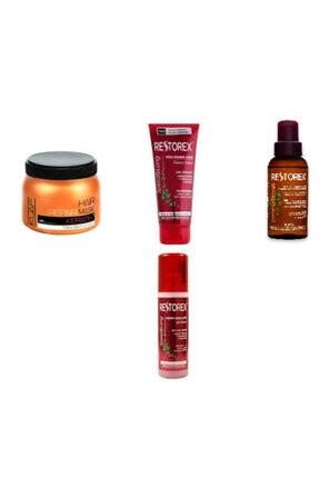 Kuaf Unisex Tuzsuz Saç Maskesi Restorex Saç Uzatan Maske Yağ ve Fönsuyu
