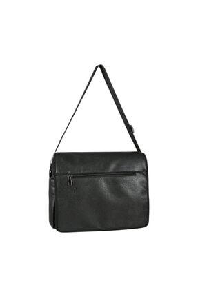 Roxy Unısex Siyah Kapaklı Laptop-postacı Çantası R-14