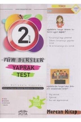 RTY Rota Yayınları 2. Sınıf Tüm Dersler Yaprak Test