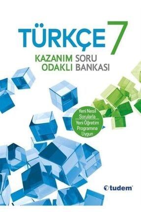 Tudem Yayınları 7. Sınıf Türkçe Kazanım Odaklı Soru Bankası