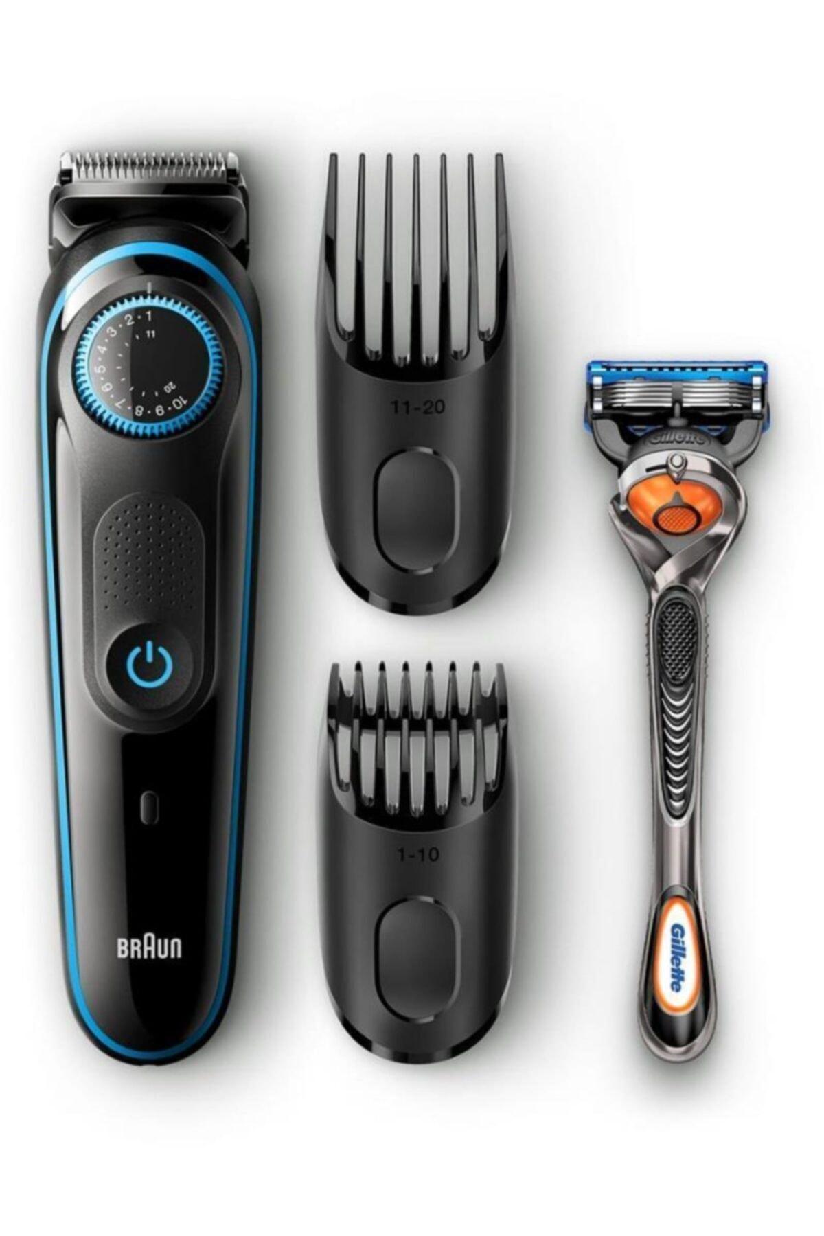 Braun Bt 5040 Saç&sakal Şekillendirici + Gillette 2