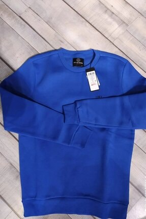 Loft Erkek Regular Fit Elektrik Mavisi Sweatshirt Lf 2023029