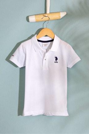 U.S. Polo Assn. Beyaz Erkek Cocuk T-Shirt