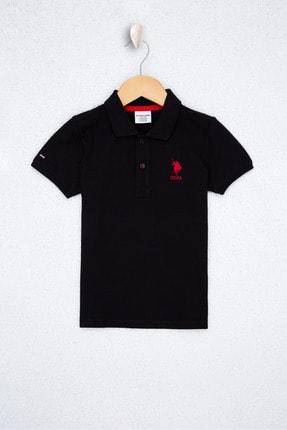 U.S. Polo Assn. Sıyah Erkek Çocuk T-Shirt