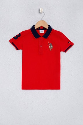 U.S. Polo Assn. Kırmızı Erkek Çocuk T-Shirt