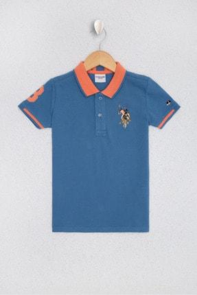U.S. Polo Assn. Mavı Erkek Çocuk T-Shirt