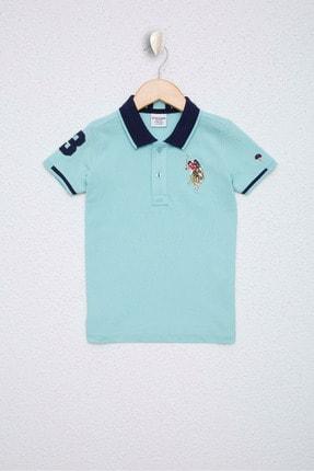 U.S. Polo Assn. Mavi Erkek Çocuk T-Shirt