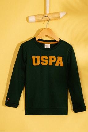 U.S. Polo Assn. Yeşil Erkek Çocuk Sweatshirt