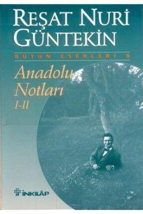 İnkılap Kitabevi Anadolu Notları 1 Ve 2 | Reşat Nuri Güntekin |
