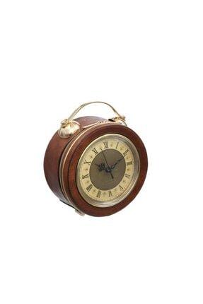 Vitale Kahve Altın Çanta/saat 20cm
