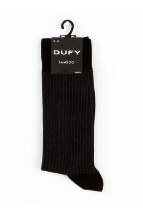 Dufy Siyah Jean Erkek Çorap
