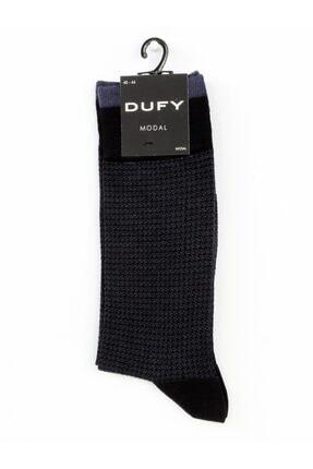 Dufy Lacivert Jean Erkek Çorap