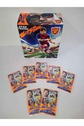 Efso Tekno Süper Final 2020 Futbolcu Kartları 150 Poşet 450 Kart