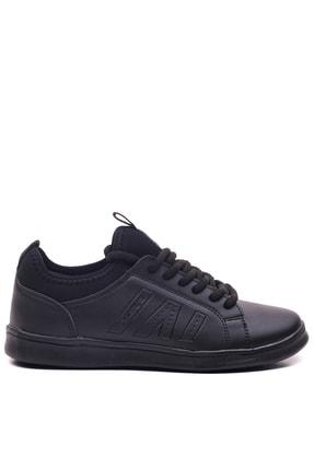 Slazenger GABON Sneaker Kadın Ayakkabı Siyah SA29LK004