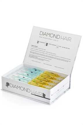 DIAMOND HAIR Hair Saç Serumu 15 Adet Şampuan + 15 Adet Saç Bakım Yağı 8680652020360