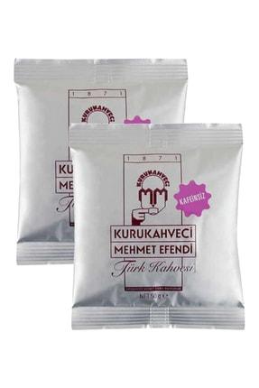Mehmet Efendi Kafeinsiz Türk Kahvesi 50 G Folyo Ambalaj X 2 Adet 8690627421009